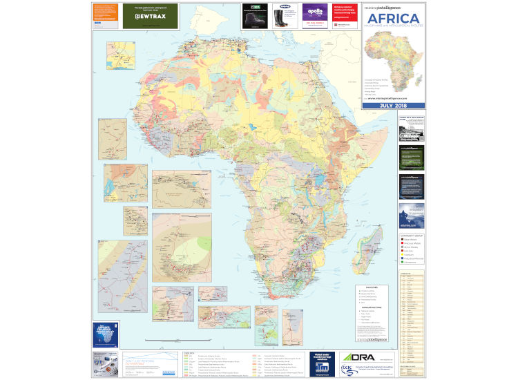 Africa Mining Map